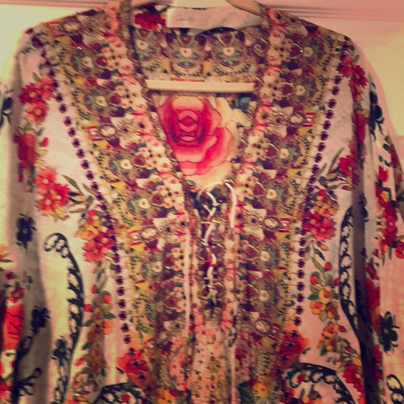 Camilla Tops - Stunning silk tunic. New without tags